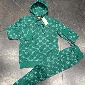 Gucci Track Suit New Season 100%Cotton
